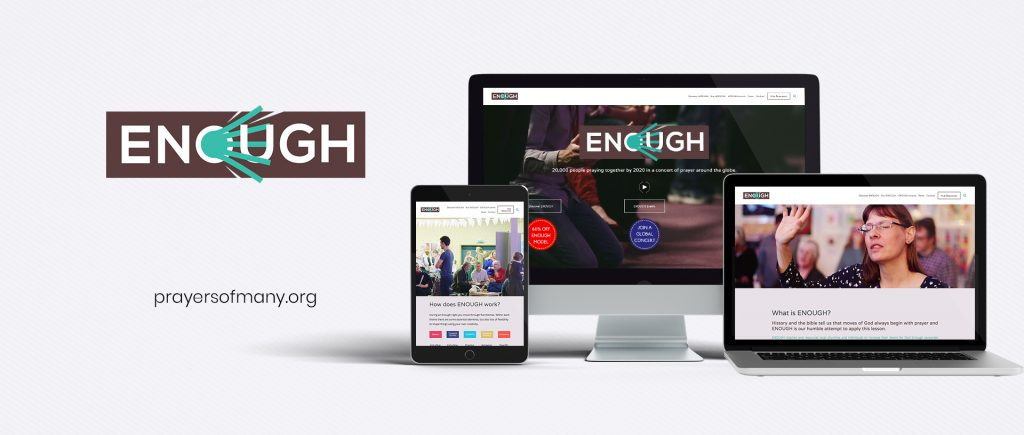 enough-prayersofmany-Website-Mockup-byjaimelopes