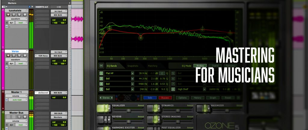 mastering for musicians